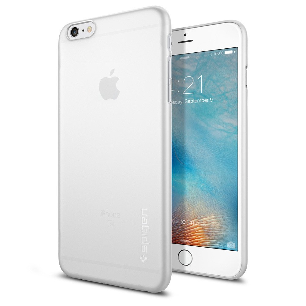 Spigen Θήκη Air Skin iPhone 6 Plus/6S Plus - Soft Clear (SGP11641) θήκες κινητών