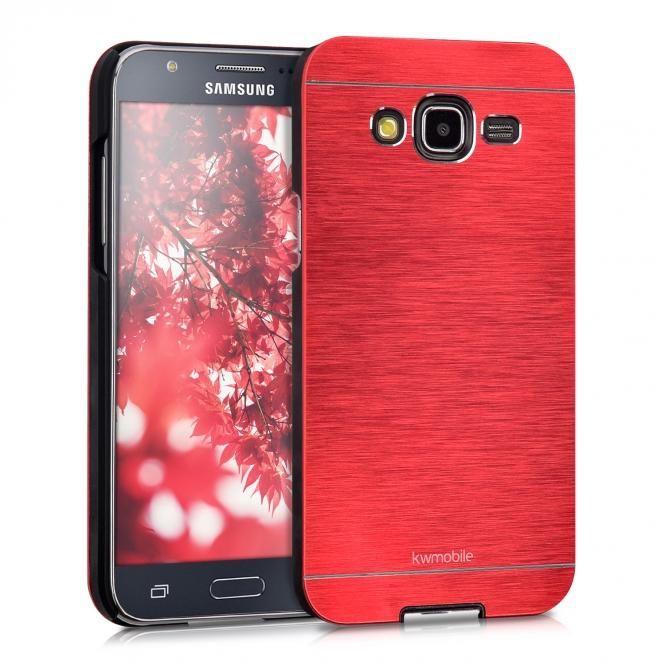 KW Θήκη Αλουμινίου Samsung Galaxy J5 (2015) (36396.09) - Red θήκες κινητών