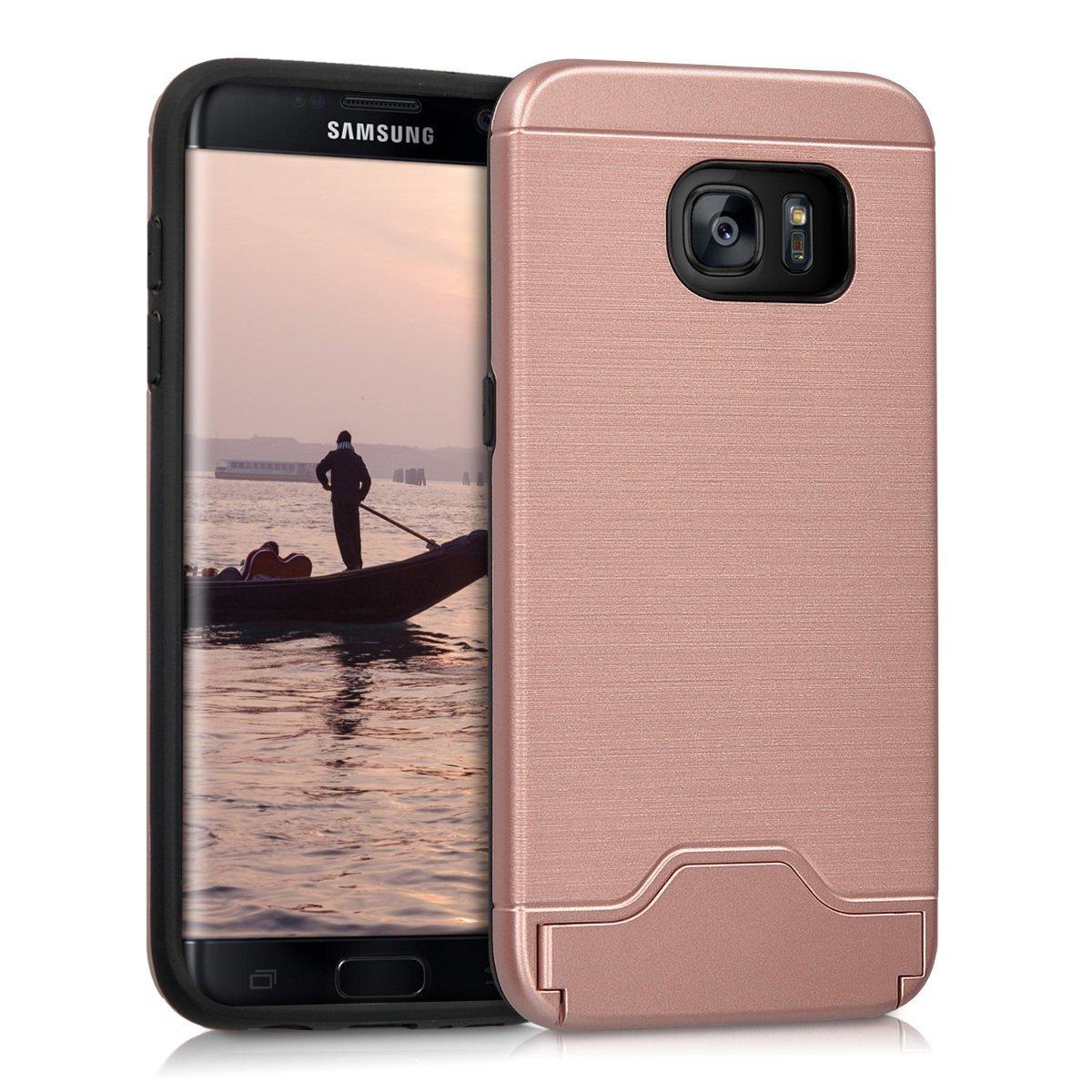KW Θήκη Αλουμινίου Samsung Galaxy S7 Edge - Pink Gold (38932.02)