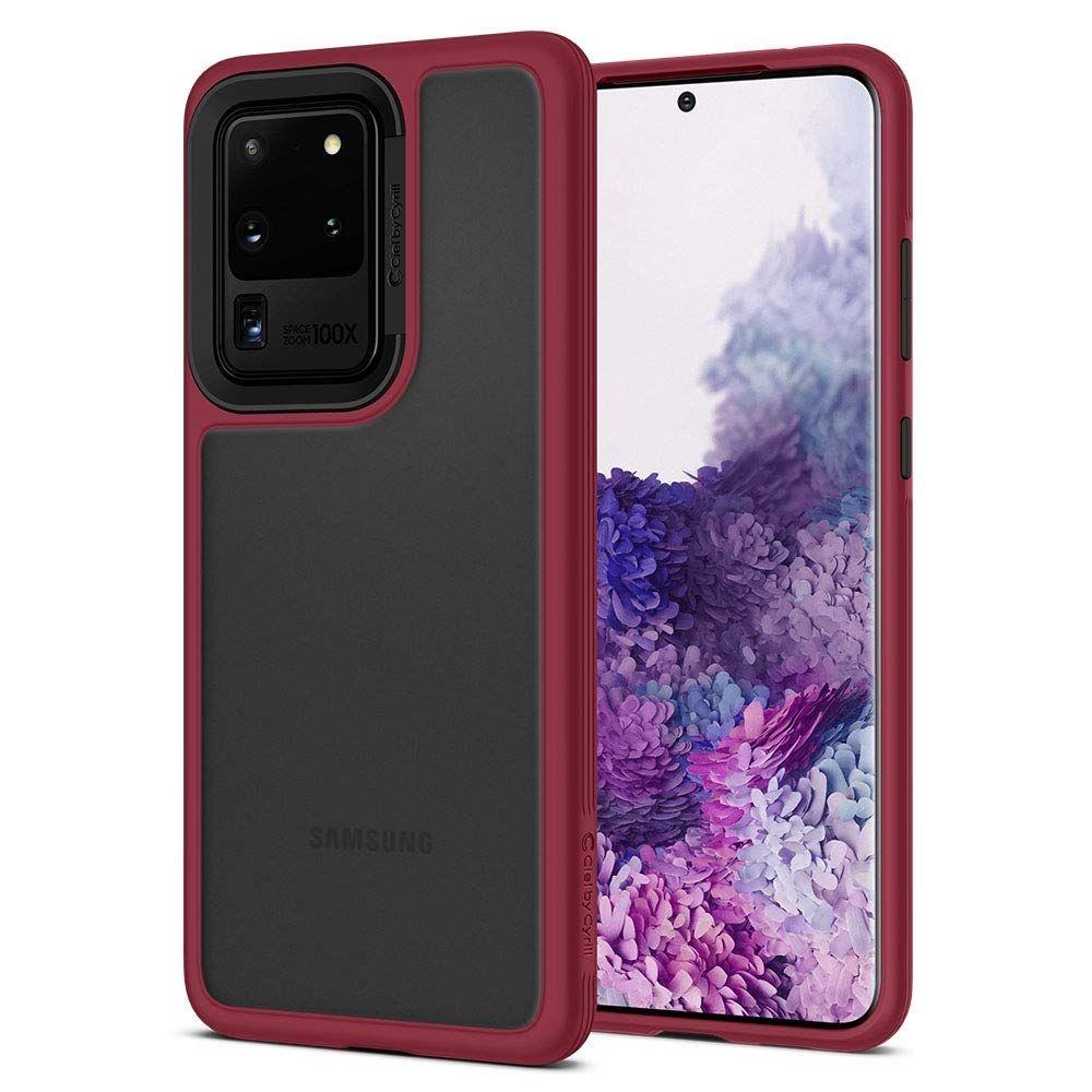Spigen Θήκη Ciel Samsung Galaxy S20 Ultra - Burgundy (ACS00728)