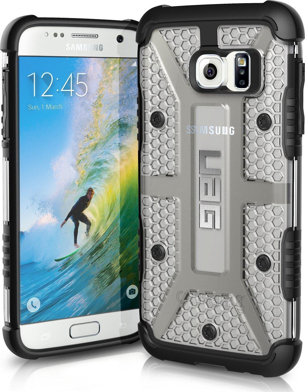 UAG Θήκη Feather-Light Composite Samsung Galaxy S7 - Ice/Black (8757)
