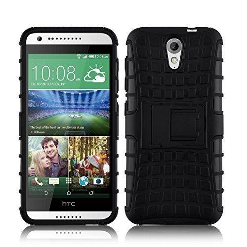 Ανθεκτική Θήκη HTC Desire 620 - Μαύρο (9893) - OEM