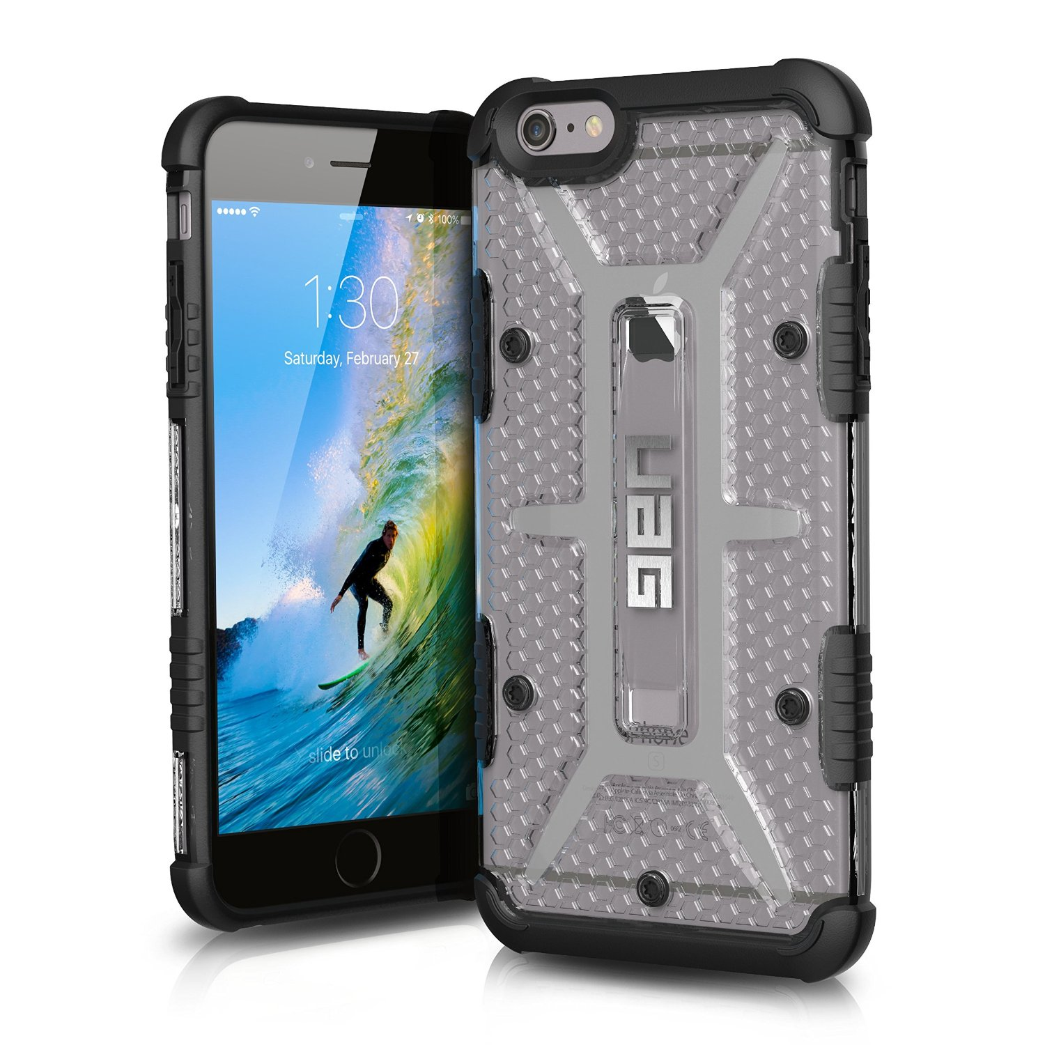 UAG Θήκη Feather-Light Composite iPhone 6 Plus/6S Plus - Ice