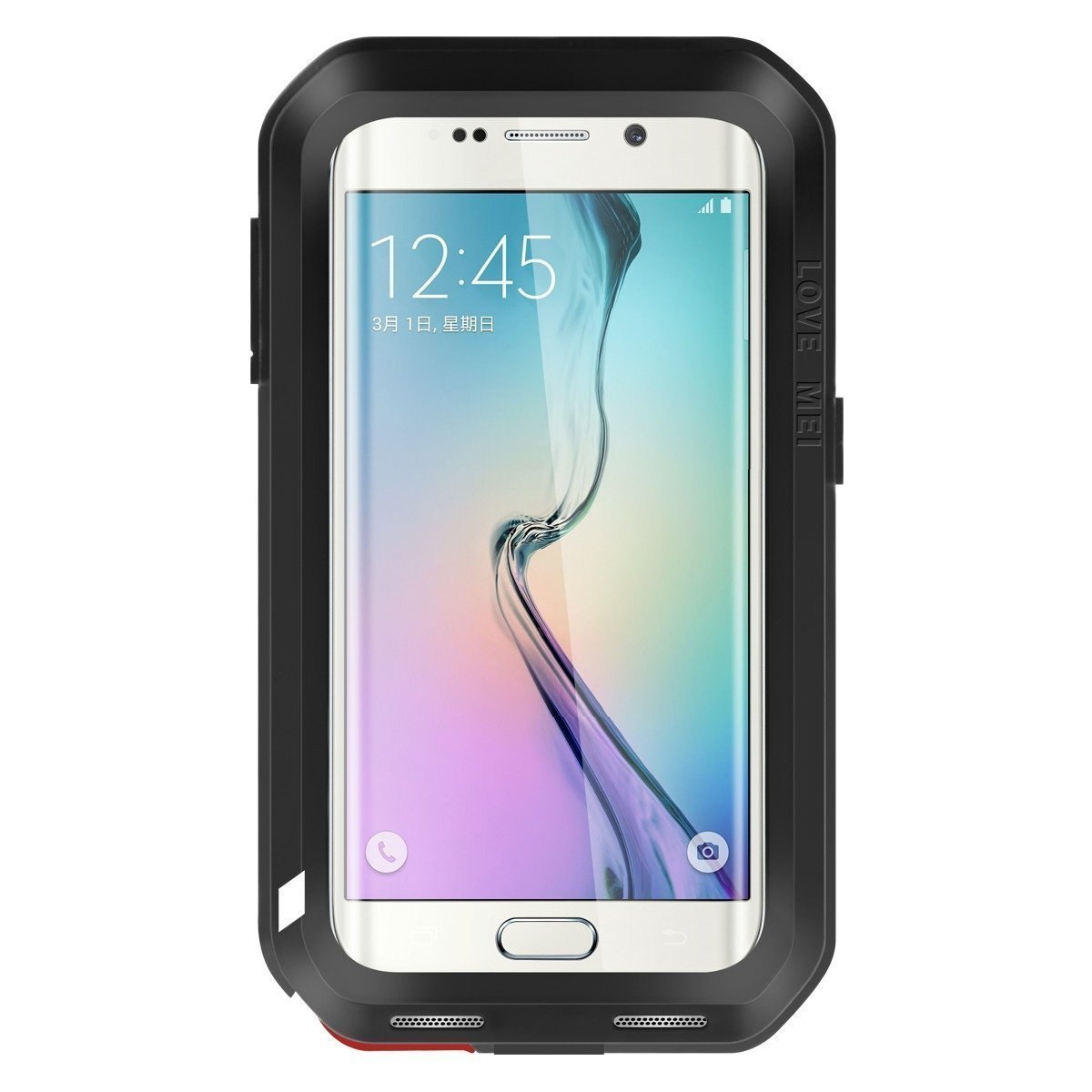 Love Mei Powerful Θήκη Samsung Galaxy S6 Edge Plus - Black (54851)