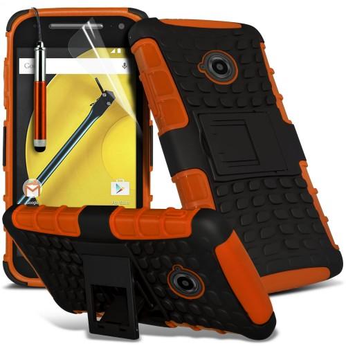 Ανθεκτική Θήκη Motorola Moto E 2nd Gen (031-003-302) - OEM