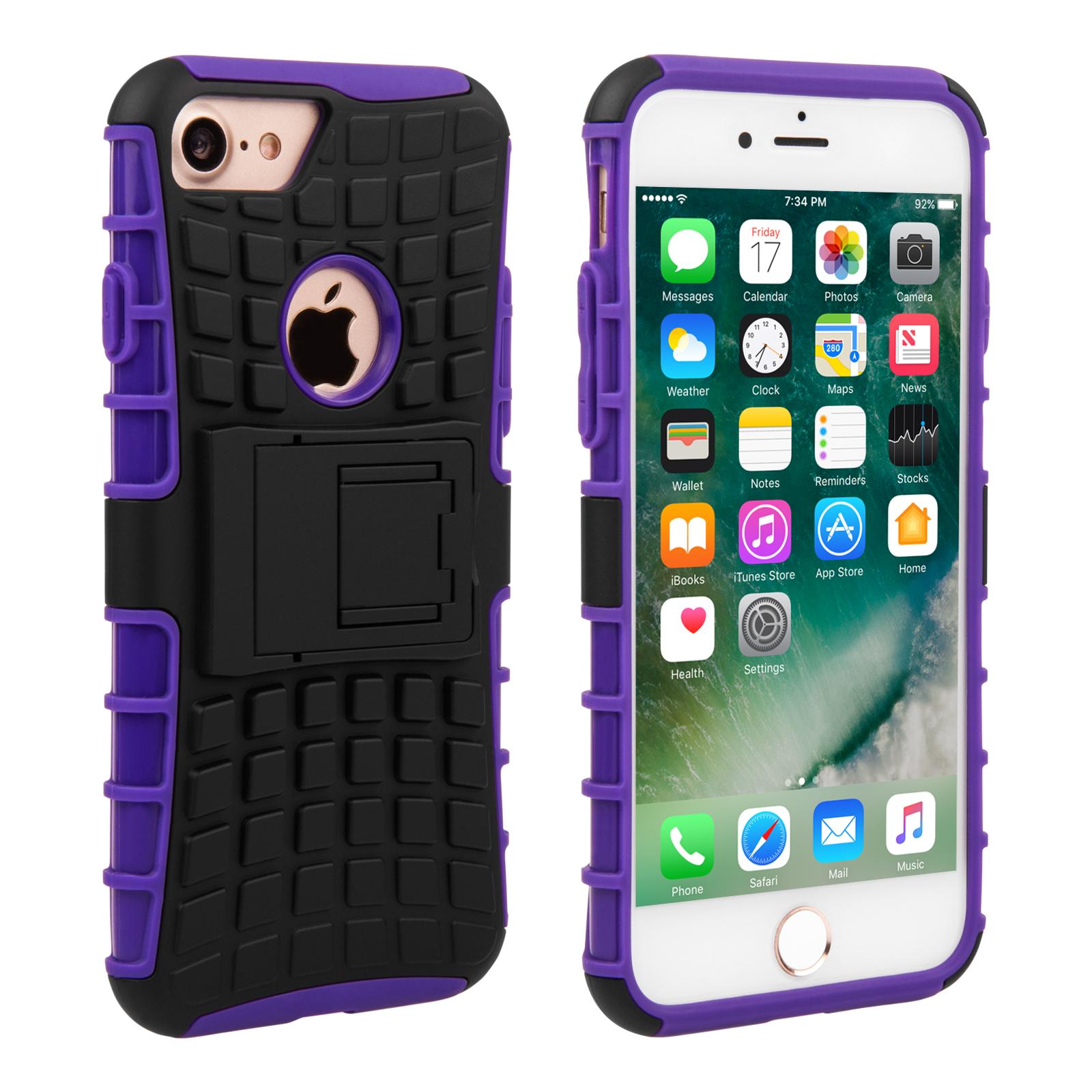 Yousave Ανθεκτική Θήκη iPhone 7 (AP-GA03-Z434) - Purple