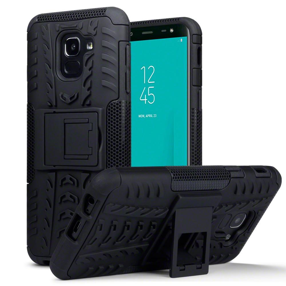 Terrapin Ανθεκτική Θήκη Samsung Galaxy J6 2018 - Black (131-002-082)