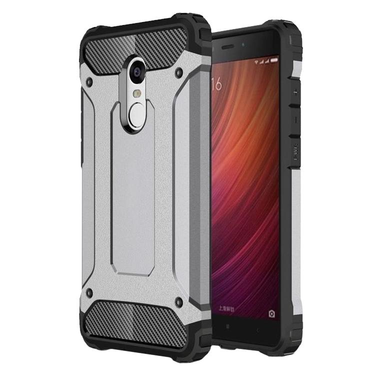 SHTL Ανθεκτική Θήκη Tech Armor Xiaomi Redmi Note 4 - Grey (139203)