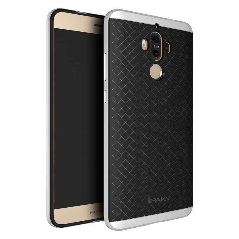 Ipaky Θήκη Hybrid Huawei Mate 9 - Black/Silver (10113)