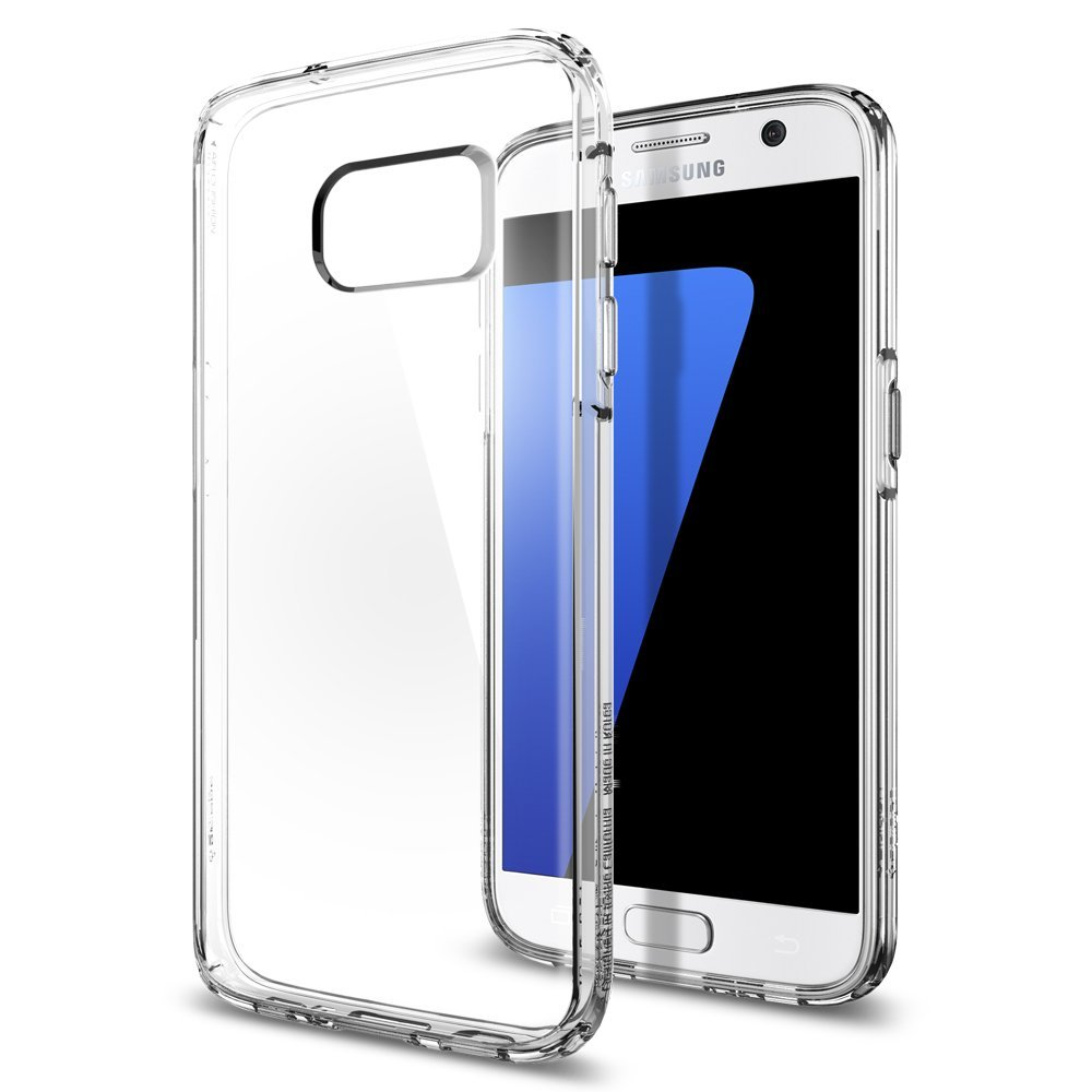 Spigen Θήκη Ultra Hybrid Samsung Galaxy S7 - Clear (555CS20008)