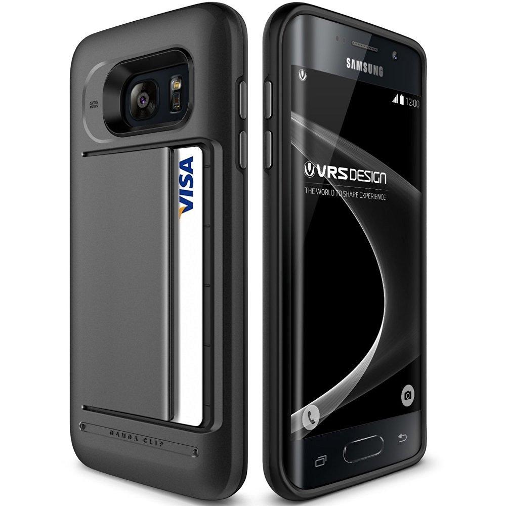 Verus Θήκη Damda Clip Series Samsung Galaxy S7 Edge - Dark Silver (VRG7E-DCPDS)