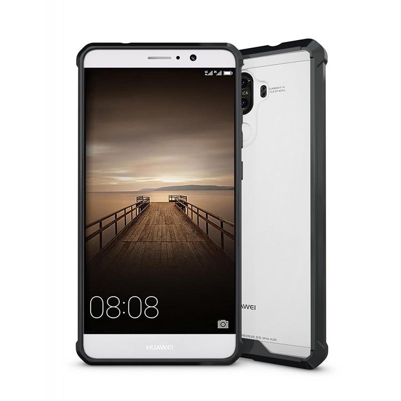 Cruzerlite Fusion Διάφανη Θήκη Huawei Mate 9 με TPU Bumper - Black (9328)