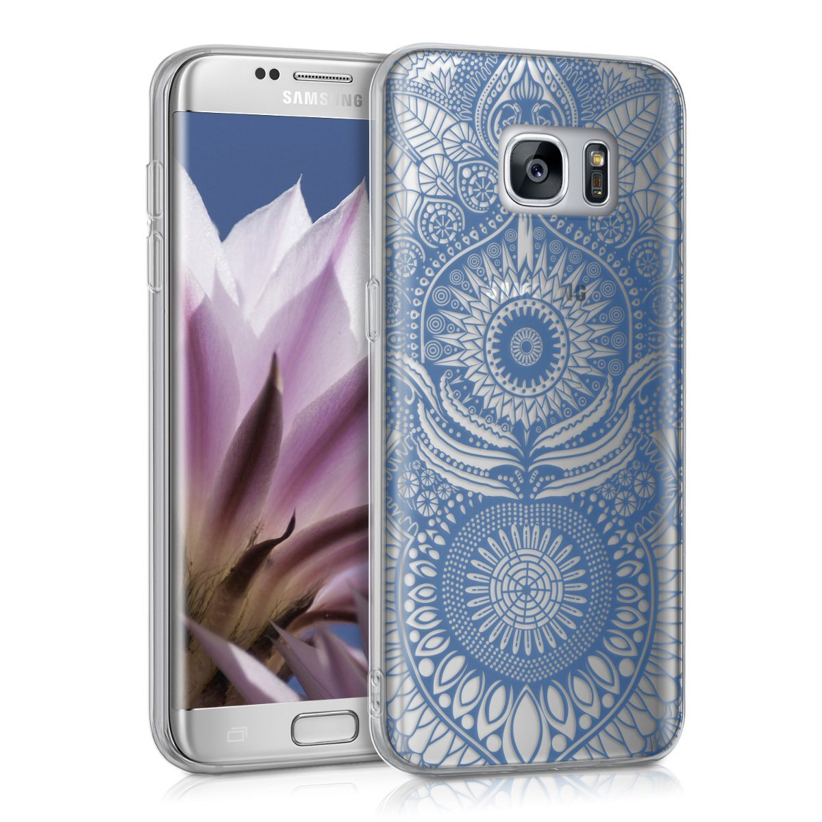 KW Διάφανη Θήκη Σιλικόνης Samsung Galaxy S7 Edge - Orient Design (39165.04)