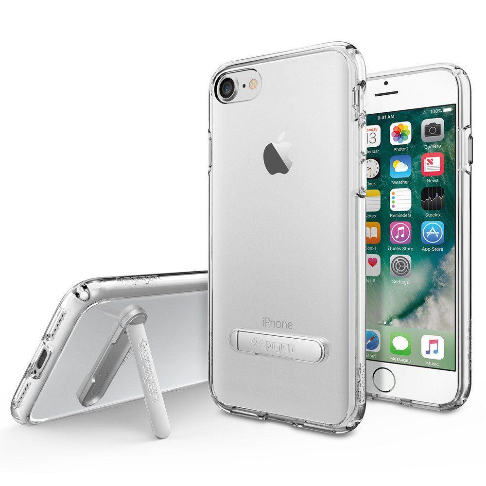 Spigen Θήκη Ultra Hybrid S iPhone 8 / 7 - Crystal Clear (042CS20753) θήκες κινητών