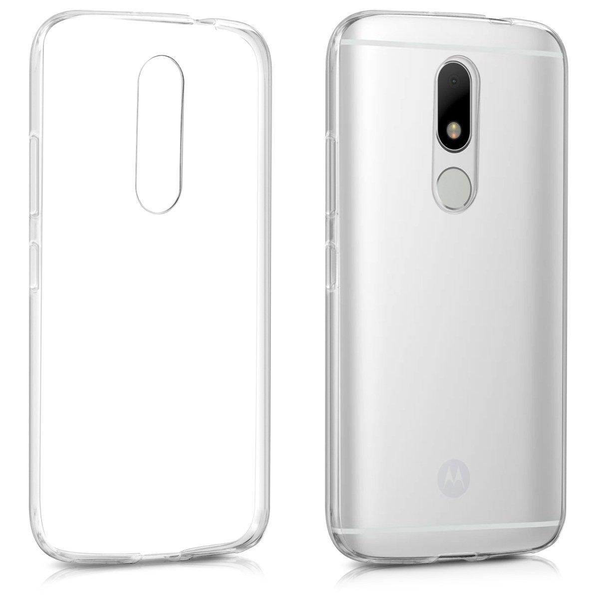 KW Διάφανη Θήκη Σιλικόνης Motorola Moto M (40647.03)