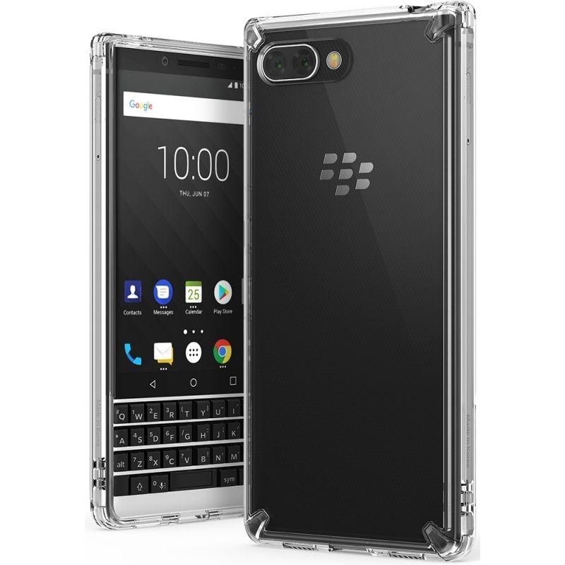 Ringke (Fusion) Διάφανη Θήκη Blackberry KEY2 με TPU Bumper - Clear (13924)