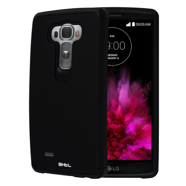 SHTL Dual PC & TPU Θήκη LG G Flex 2 - Black (95091)