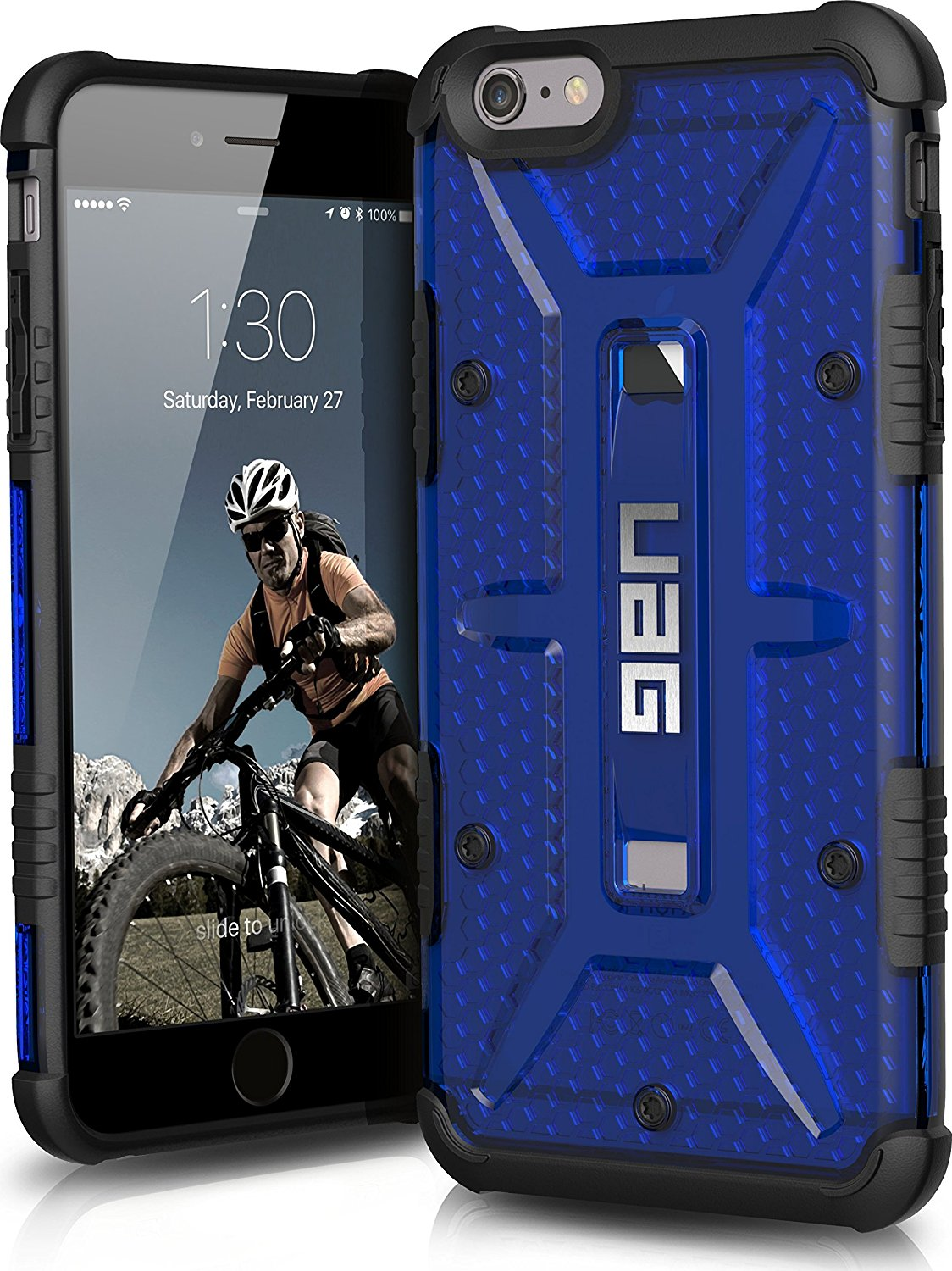 UAG Θήκη Feather-Light Composite iPhone 6 Plus/6S Plus - Cobalt Blue (UAG-IPH6/6SPLS-CBT-VP)