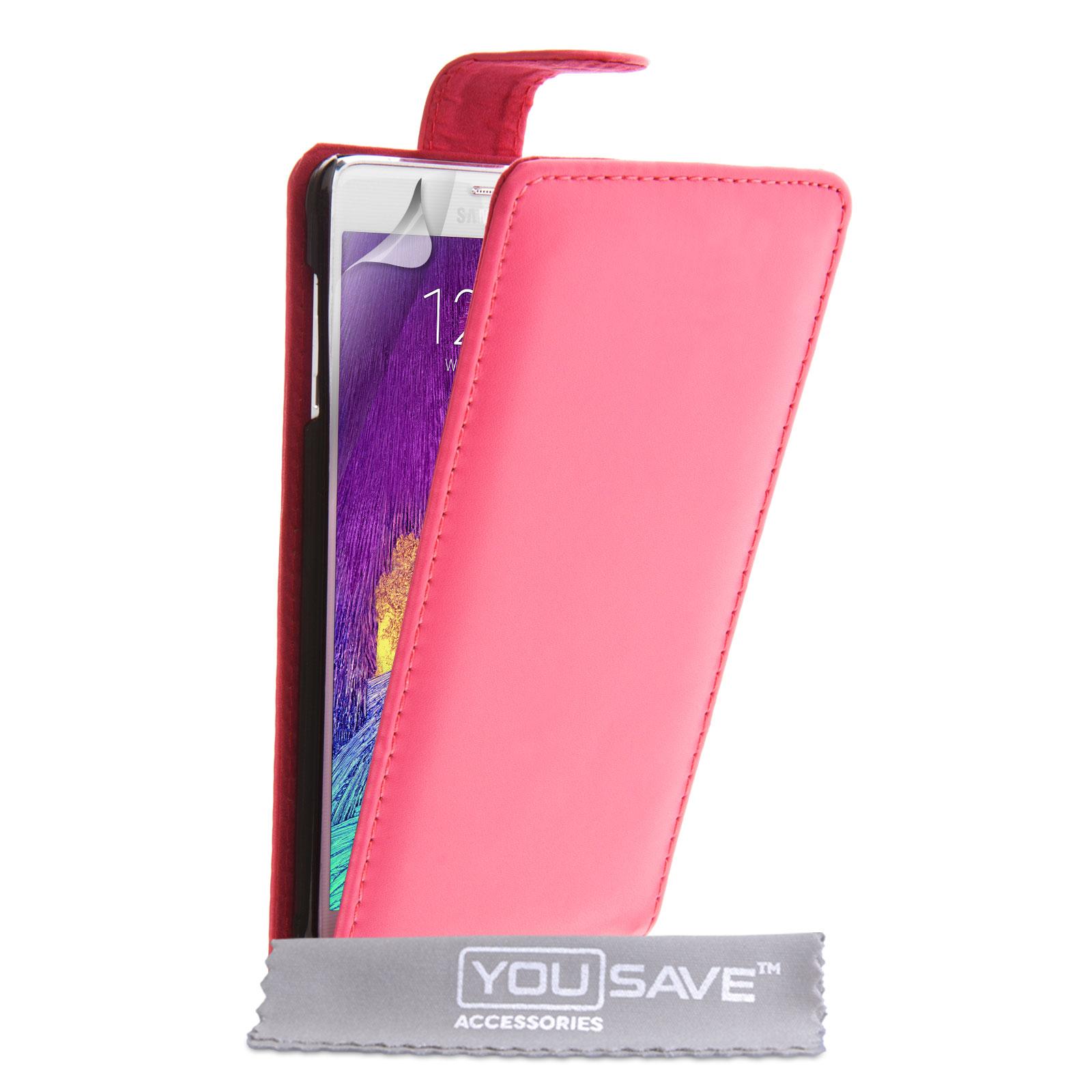 Flip Θήκη Samsung Galaxy Note 4 by YouSave (Z984) μόδα