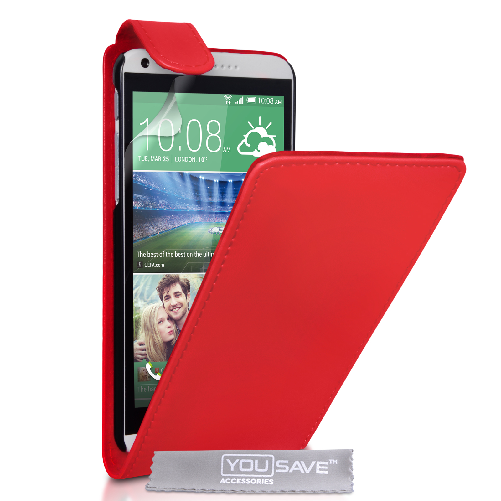 Flip Θήκη HTC Desire 816 by YouSave (Z408-816)