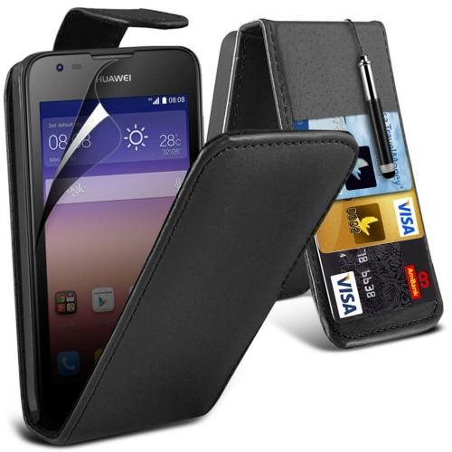 Flip Θήκη Huawei Ascend Y550 (016-083-550) - OEM