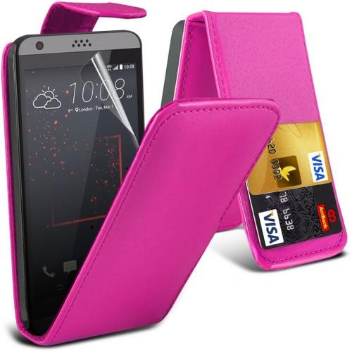 Flip Θήκη HTC Desire 530/ 630 - Ροζ (9890) - OEM
