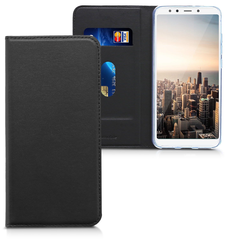 KW Θήκη-Flip για Xiaomi Mi A2 / Mi 6X - Black (45067.01)