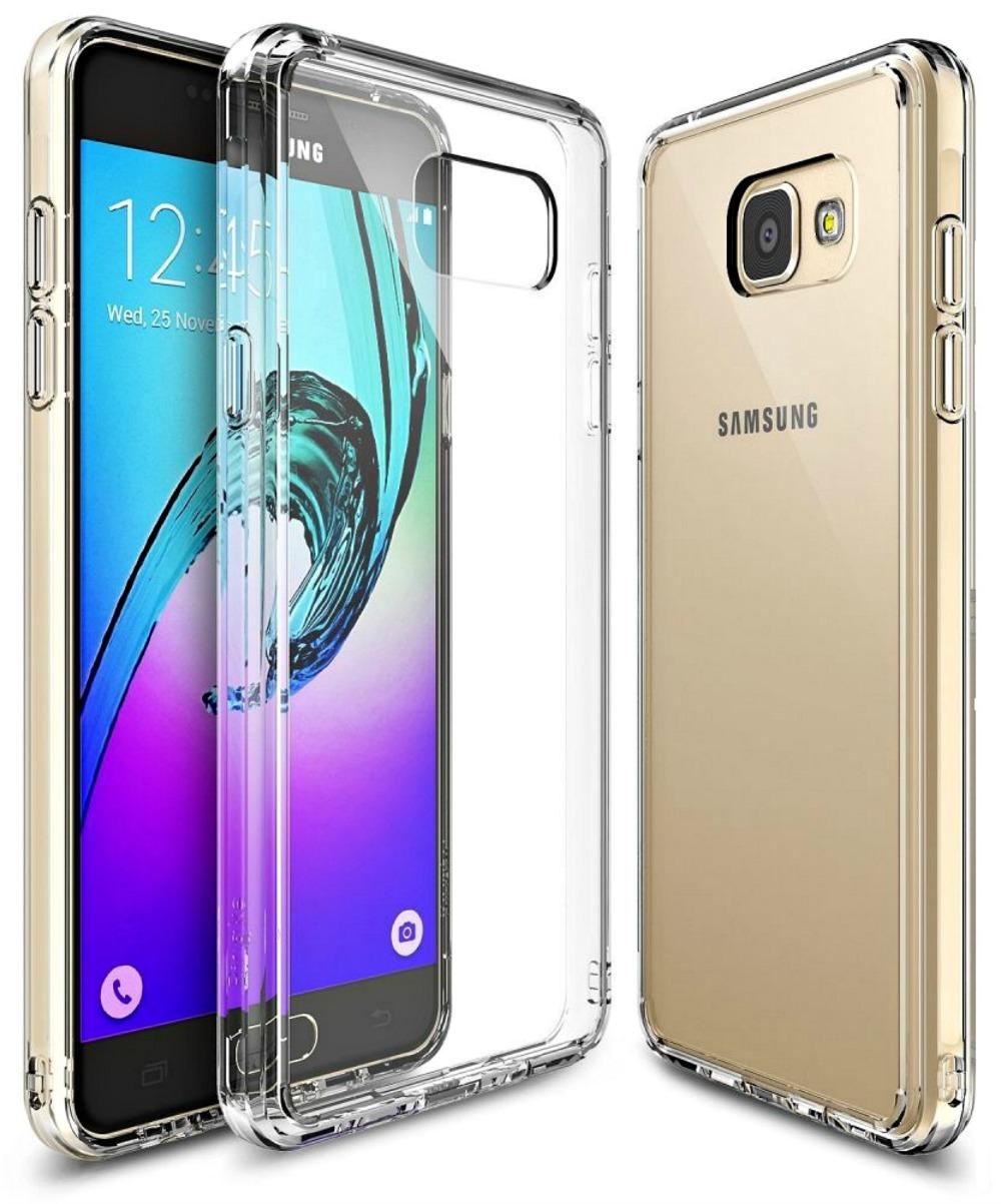 Ringke (Fusion) Θήκη Samsung Galaxy A3 II (2016) με TPU Bumper + Screen Protector - Clear