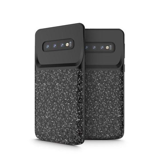 Θήκη με Ενσωματωμένη Μπαταρία 5000mAh Samsung Galaxy S10 Plus - Fast Charge - Black (46518) - OEM