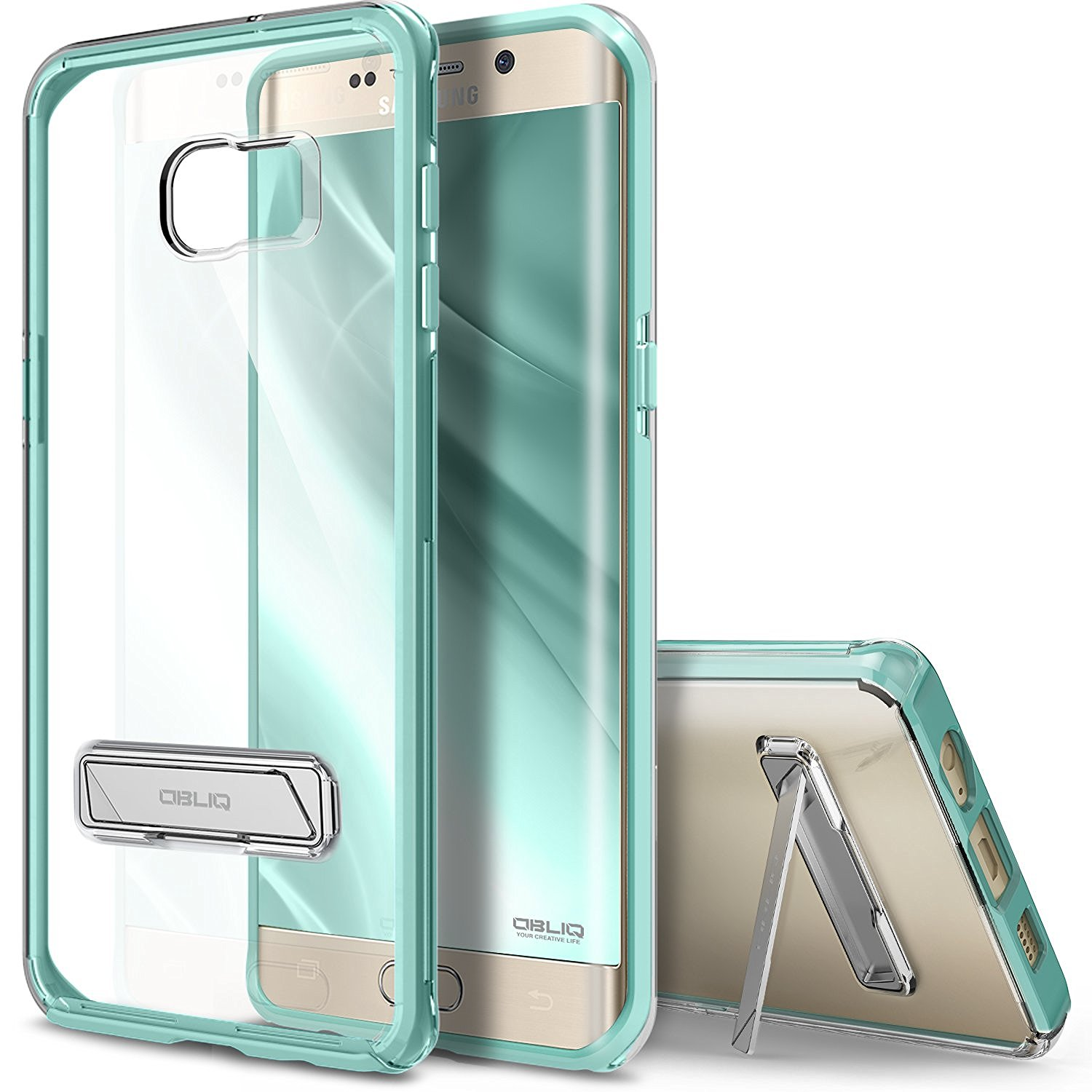 Obliq Θήκη Naked Shield Series Samsung Galaxy S6 Edge Plus - Green (54444)