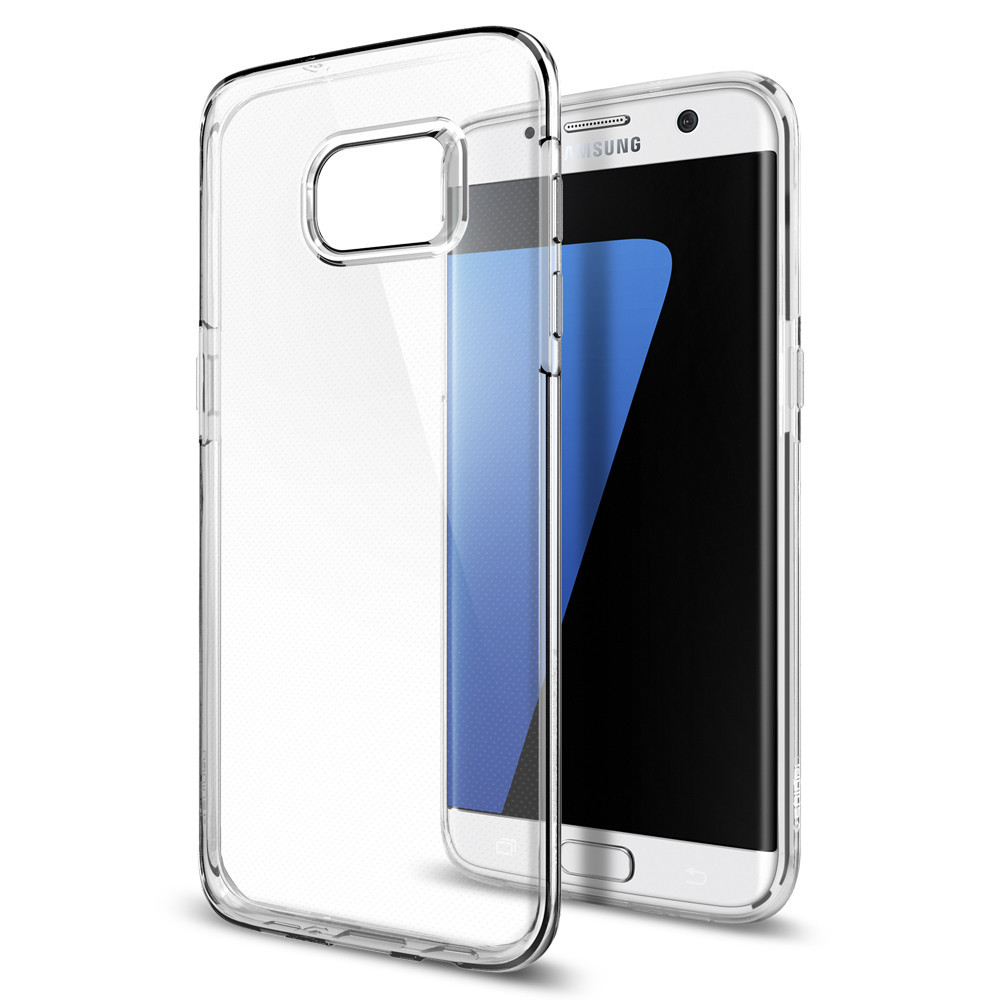 Spigen Θήκη TPU Liquid Crystal Samsung Galaxy S7 Edge - Crystal Clear (556CS20032)