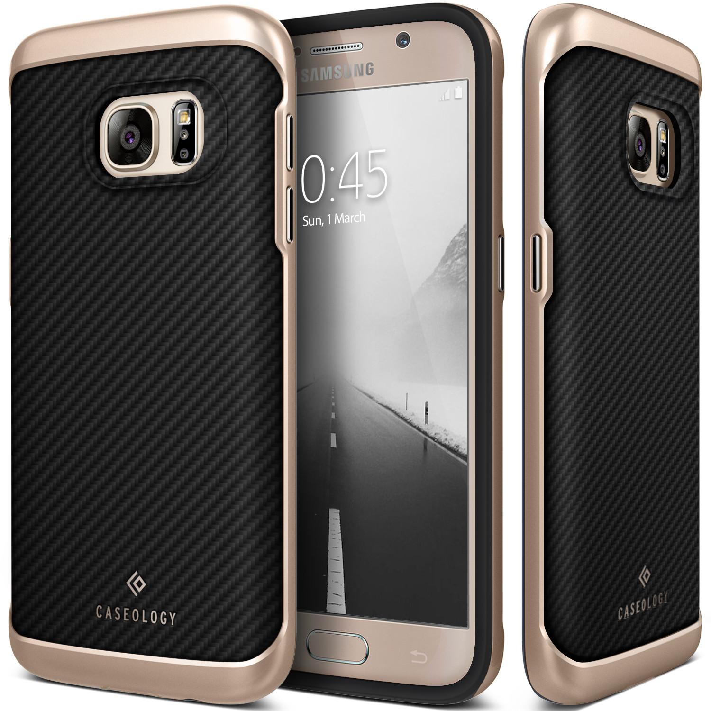Caseology Θήκη Envoy Series Samsung Galaxy S7 - Carbon Fiber Black (CO-GS7-ENV-BK)
