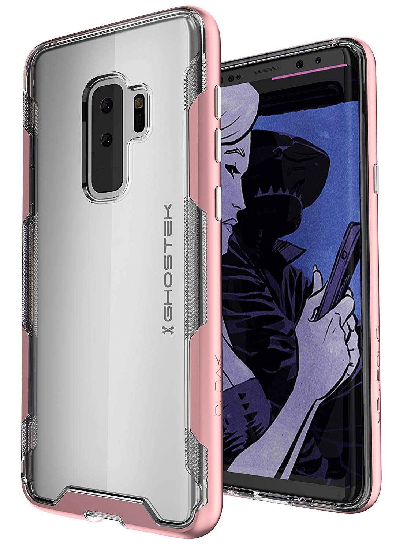 Ghostek Cloak 3 Series Θήκη Samsung Galaxy S9 Plus - Clear / Pink (GHOCAS914)
