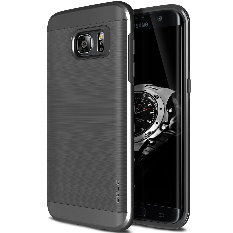 Obliq Θήκη Slim Meta Samsung Galaxy S7 Edge - Titanium Space Grey (OBLQSMG7SLIMA01)