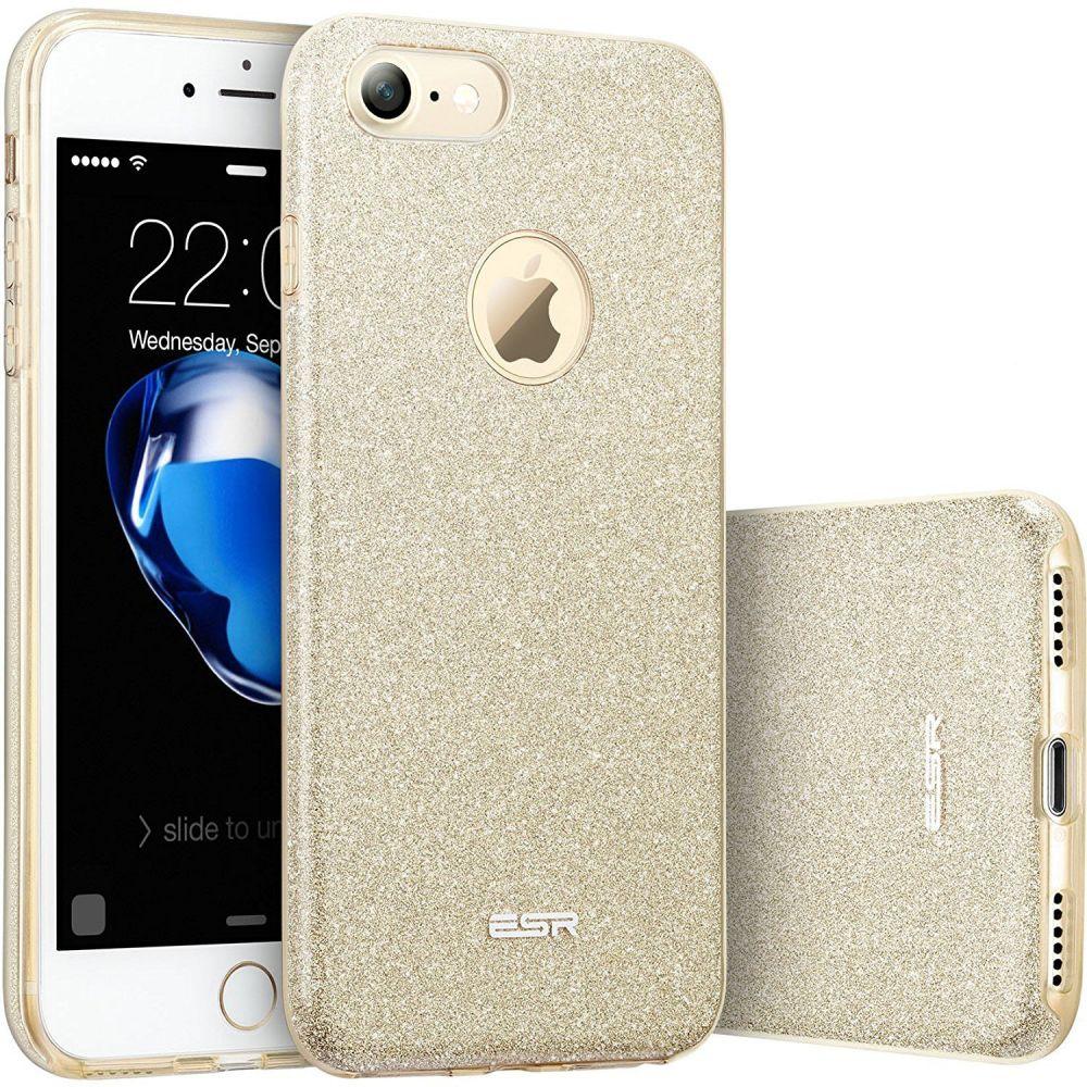ESR Glitter Shine Θήκη iPhone 7 - Champagne Gold (10004) θήκες κινητών