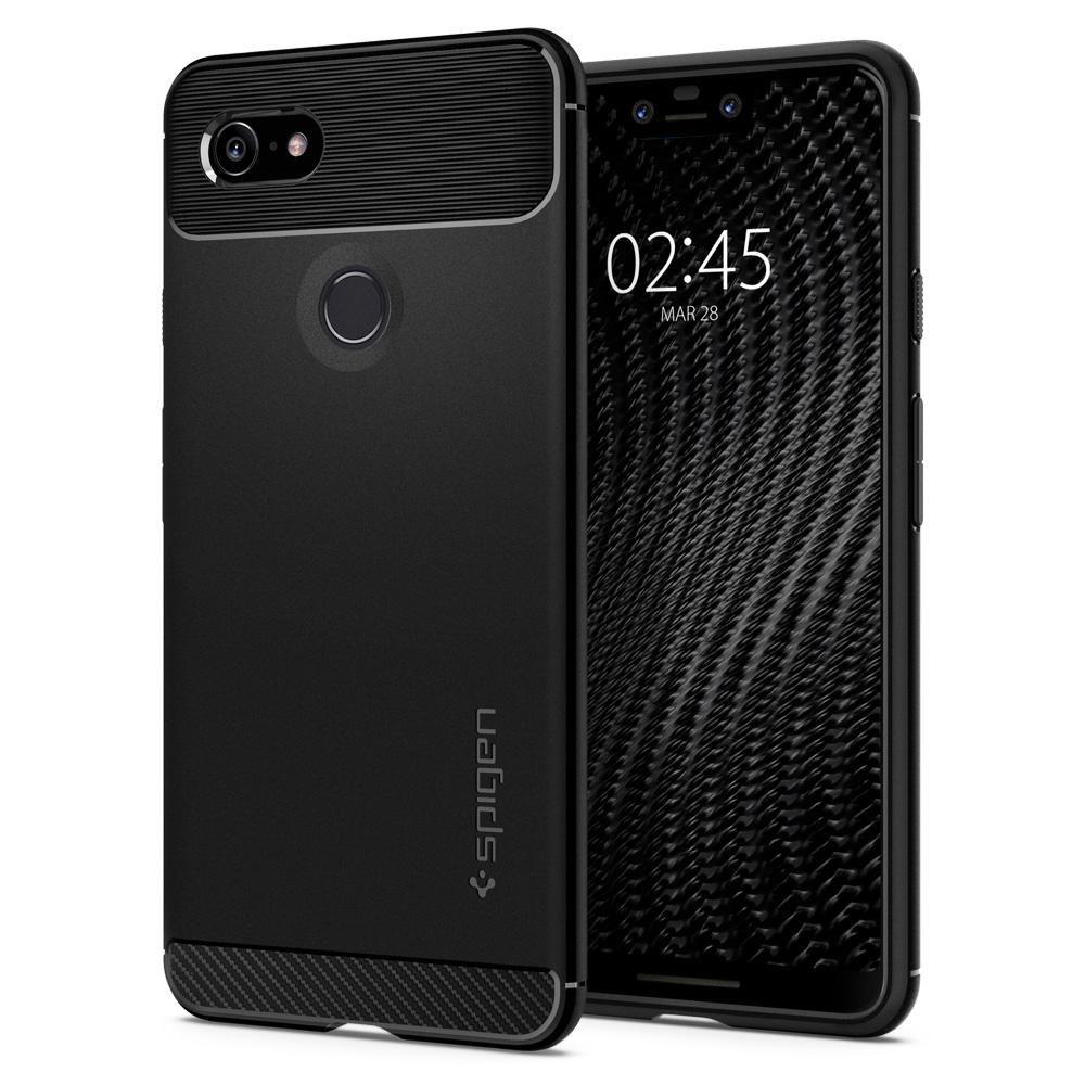 Spigen Θήκη Rugged Armor Google Pixel 3 XL - Black (F20CS25021)