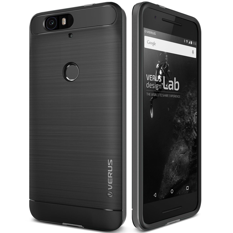 Verus Θήκη High Pro Shield Series Huawei Nexus 6P - Dark Silver (VRNX6H-HPSDS)