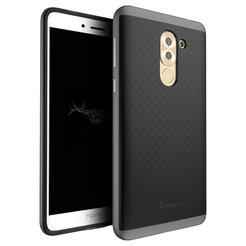 Ipaky Θήκη Hybrid Huawei Honor 6X - Black/Grey (9364) θήκες κινητών