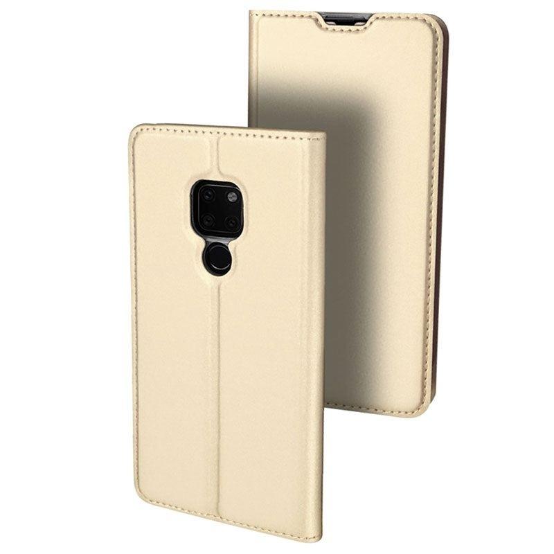 Duxducis Θήκη - Πορτοφόλι Huawei Mate 20 Pro - Gold (14367)