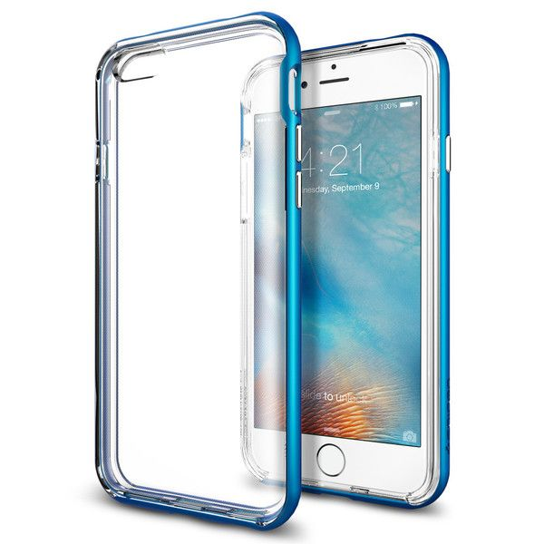 Spigen Θήκη Neo Hybrid Ex iPhone 6 Plus/6S Plus Bumper - Electric Blue (SGP11670)