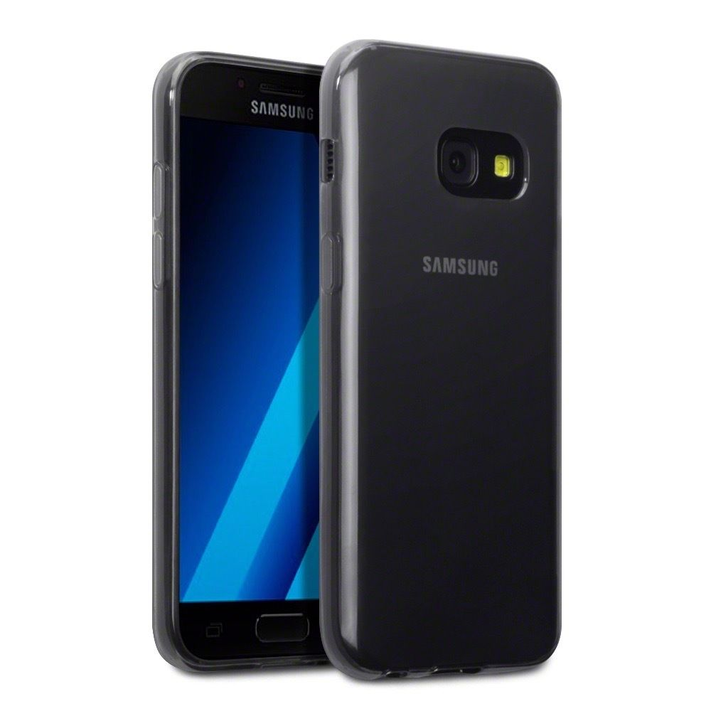 Terrapin Θήκη Σιλικόνης Samsung Galaxy A3 2017 - Smoke Black (118-002-579)