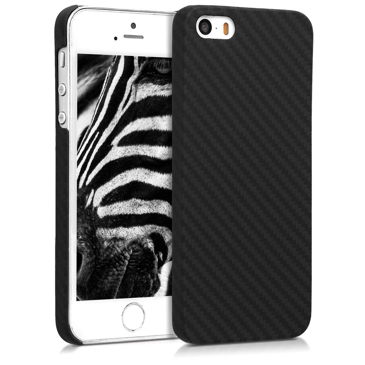 Kalibri Aramid Fiber Body - Σκληρή Θήκη iPhone SE/5S/5 - Black Matte (45097.47)