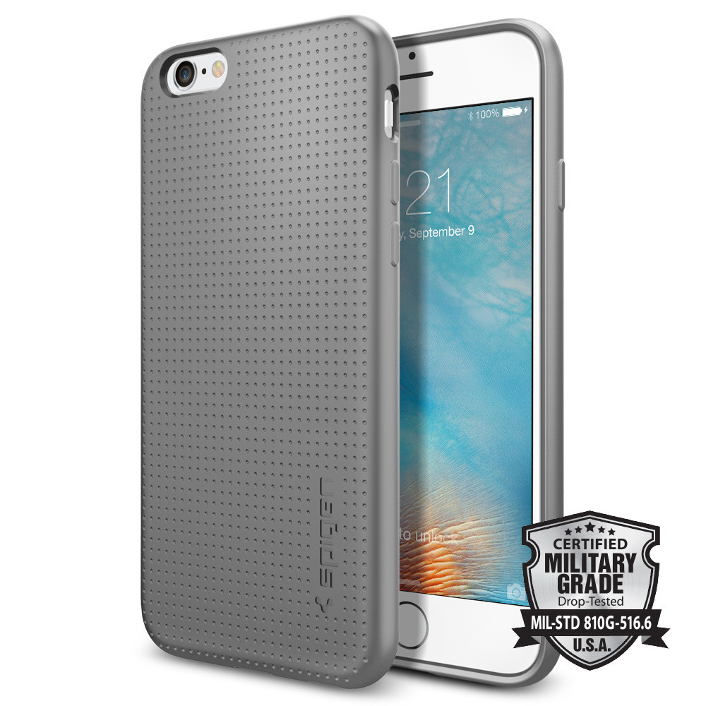 Spigen Θήκη Liquid Armor iPhone 6/6S - Gray (SGP11752)