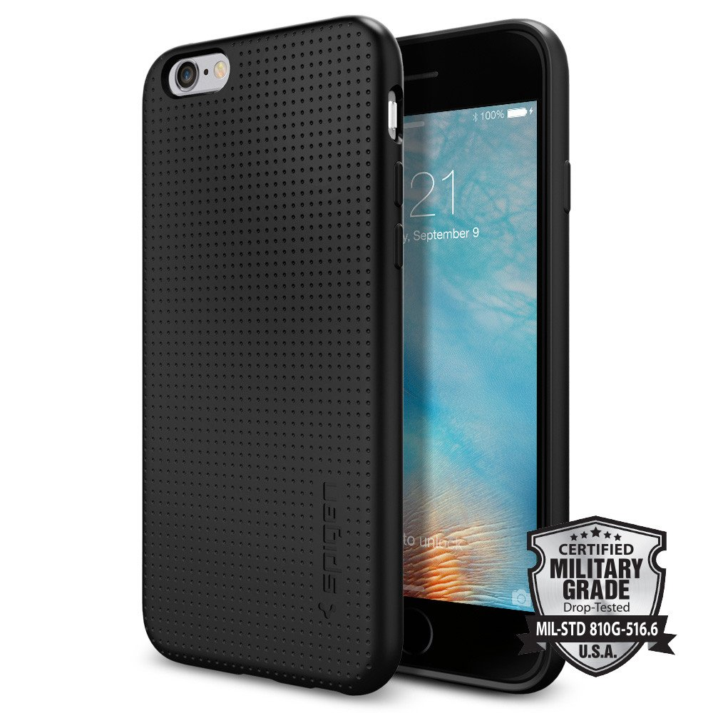 Spigen Θήκη Liquid Air iPhone 6/6S - Black (SGP11751)