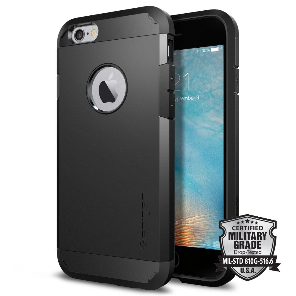 Spigen Θήκη Tough Armor iPhone 6/6S - Black (SGP11614)