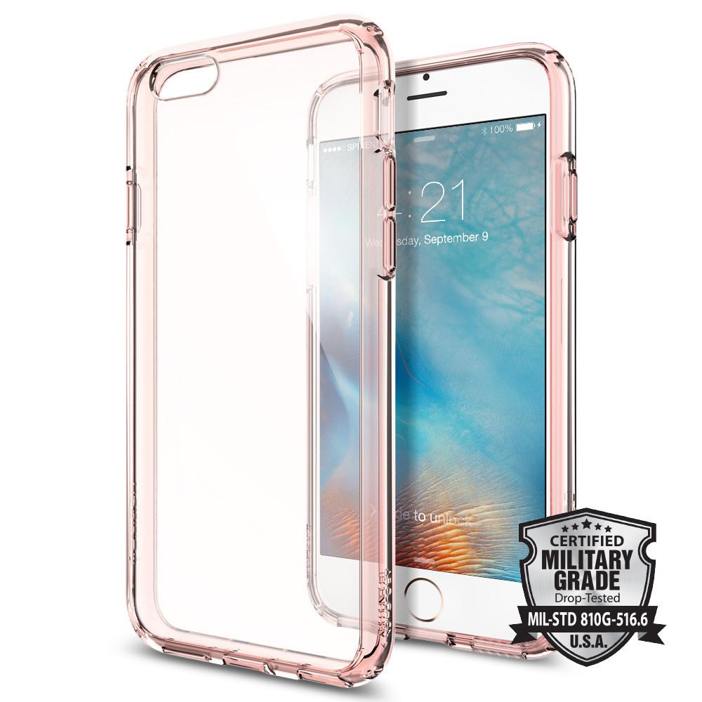 Spigen Θήκη Ultra Hybrid iPhone 6/6S - Rose Crystal (SGP11722)
