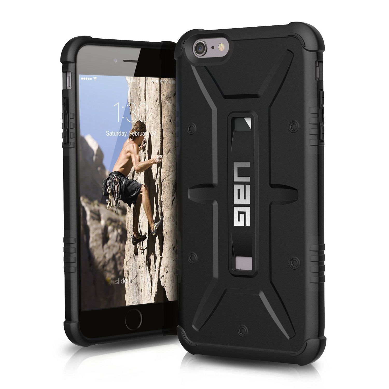 UAG Θήκη Feather-Light Composite iPhone 6 Plus/6S Plus - Black (7943)