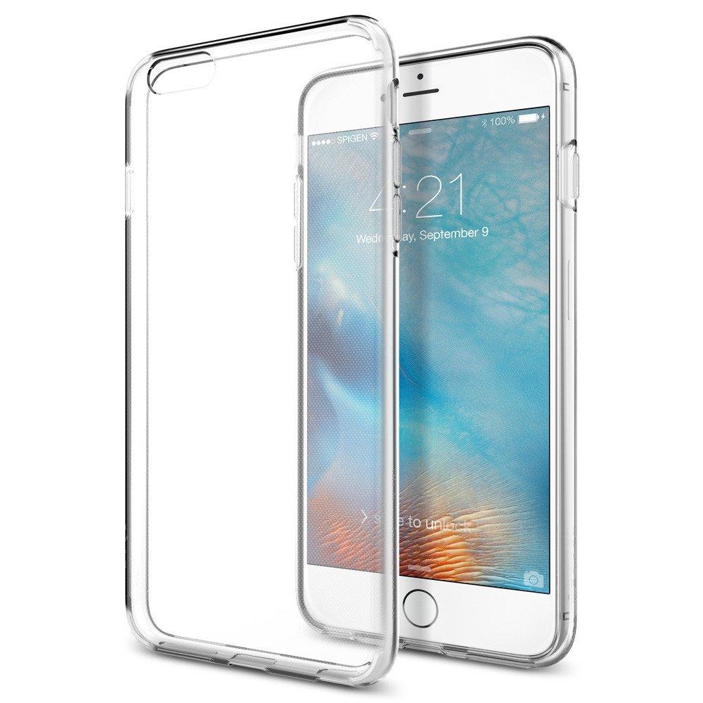 Spigen Θήκη TPU Liquid Crystal iPhone 6 Plus/6S Plus - Crystal Clear (SGP11642) θήκες κινητών