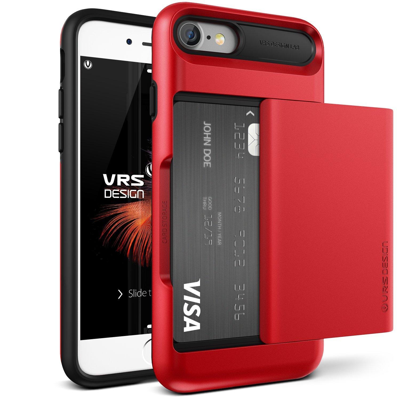 Verus Θήκη Damda Glide iPhone 7 - Apple Red (VRIP7-DGLRD) θήκες κινητών