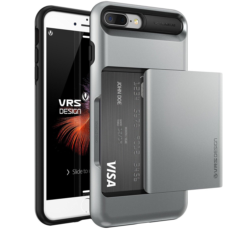 Verus Θήκη Damda Glide iPhone 7 Plus - Steel Silver (VRIP7P-DGLDS) θήκες κινητών